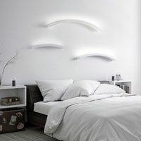 Melossia LED wall light  shining upwards  54 5 cm