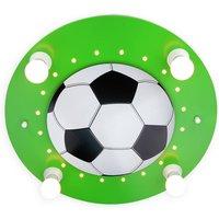 Football ceiling light  4 bulb  dark green white