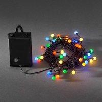 40 blb LED outdoor string lights RGB battery