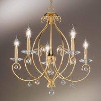 KOLARZ Carat   five bulb chandelier