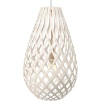 david trubridge Koura pendant lamp 50 cm white