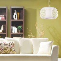 Mirta hanging light  white    38 cm
