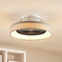 Starluna Circuma LED ceiling fan  grey