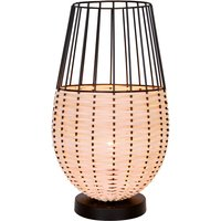 Dizzi table lamp made of wood and metal