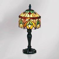 Decorative table lamp Jamilia in Tiffany style