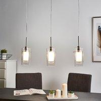3 light decorative pendant lamp Duo 1