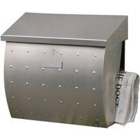 Mailbox Krosix made of stainless steel