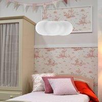 Newgarden Claudy hanging lamp  cloud shape  white
