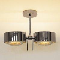 Two bulb ceiling light PUK SIDES  chrome  10 cm