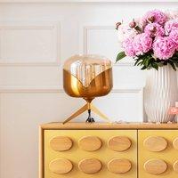 KARE Golden Goblet Ball table lamp  brass