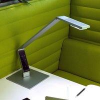 Luctra Table Linear LED table lamp aluminium base