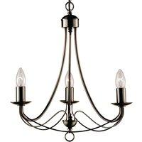 Maypole three bulb chandelier