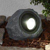 Leuchtender Solarstein Lior mit LED