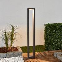 Eckige LED-Pollerleuchte Jupp, 90 cm