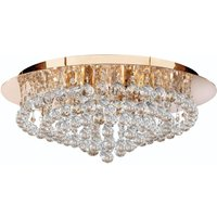 Hanna ceiling light  55 cm  clear