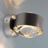 Puk Wall LED wall light  matt chrome