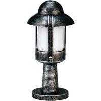 Country style Jesper pillar light  black