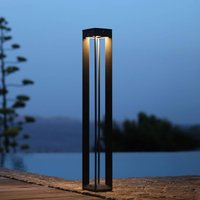 Borne LED solar light with sensor  height 90 cm