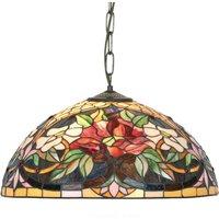 Tiffany style hanging light Ariadne  1 bulb