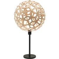 david trubridge Coral buffet lamp natural