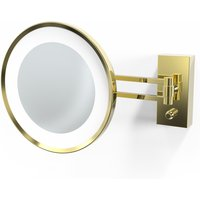 Decor Walther BS 36 LED-Kosmetikspiegel, gold