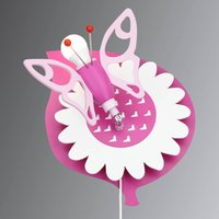 Butterfly wall light for a child s room 1 bulb