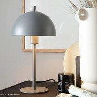 Sch ner Wohnen Kia table lamp grey height 34 cm