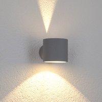 Modena Round outdoor wall light  round grey