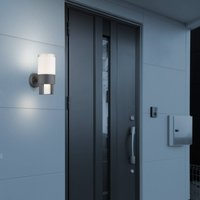 Nexa LED outdoor wall light  anthracite opal
