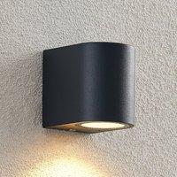 ELC Fijona LED outdoor wall lamp  round  8 1 cm