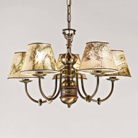 Impressive Nautica chandelier  five bulb