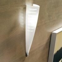 Brilliantly shaped wall light Iris