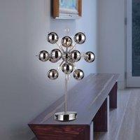 Special table lamp Wakusei  chrome