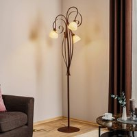3 bulb floor lamp Francesco