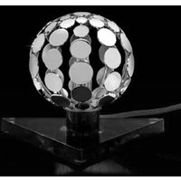 Sfera table lamp with black base  10 cm