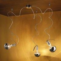 Three bulb hanging lamp Orchestra 2