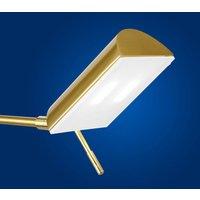 B Leuchten Graz LED table lamp  brass