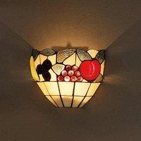 Amira wall light in the Tiffany style