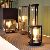 Cadix pillar light made of die cast aluminium 50cm