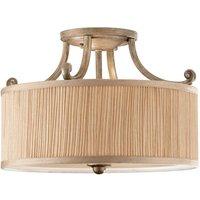 Stylish semi flush ceiling lamp Abbey