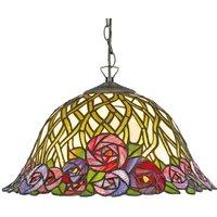 Stylish hanging light Melika   Tiffany style