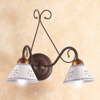 2 bulb LIBERTY wall light