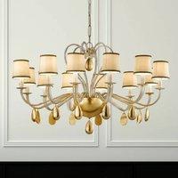 ANOUK cream coloured chandelier 115 cm