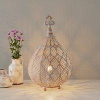 Nabila LED table lamp with an oriental design