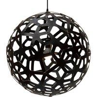 david trubridge Coral hanging lamp   60 cm black