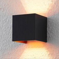 ELC J rdis wall lamp  G9  angular  black