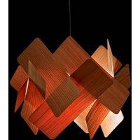 LZF Escape hanging light  52cm natural cherry wood