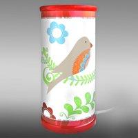 Beautiful bird of paradise LED table lamp