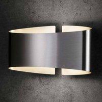 Holtk tter Voil  LED wall light  stainless steel