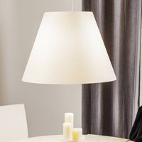 Luceplan Grande Costanza   pendant light  white